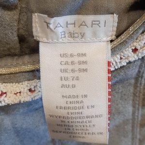 Tahari Dresses - Holiday Tahari Baby dress w/leggings